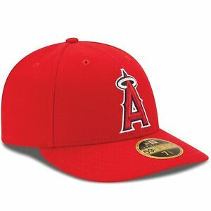 [70360636] Mens New Era MLB Authentic Collection Low Pro 59Fifty Fitted Cap Los