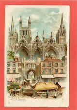 More details for peterborough cathedral tuck pc 1905 london hooded circle postmark  ref u894