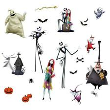 THE NIGHTMARE BEFORE CHRISTMAS WaLL DeCaLS Jack Sally Room Decor Stickers Oogie