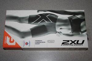 2XU Compression Short Women's XS X-SMALL BLACK/BLACK WA1932b NEW
