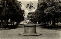 Oranienbaum Sachsen Anhalt DDR AK 1961 gelaufen Markt mit Wahrzeichen der Stadt
