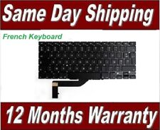 "Apple Macbook Pro 15"" A1398 Keyboard FRENCH Layout  Model Year 2012 - 2015"