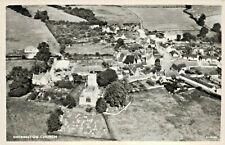 More details for sherington village & church postcard c1935 real photo aero films air view bucks