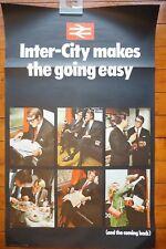 1970 Inter City macht es einfach Original Bahn Reise Poster