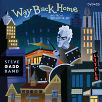 Steve Gadd: Way Back Home [New DVD] With CD