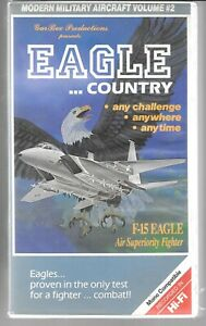 Gar Bex Prod Aigle Country, F-15 Aigle Fighter Documentaire Occasion VHS