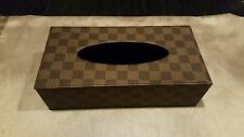 New Leather Tissue Box Cover
