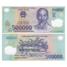 Vietnam Viet Nam 500000 500,000 Dong, Polymer, 2017, P-124, UNC