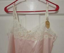 Nwt Vintage Farr West Sissy Pink Satiny Silky Slip Nightgown Size 38