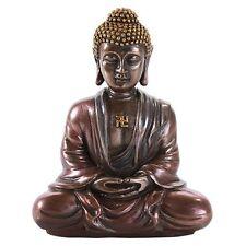 Shakyamuni Mini Gautama Buddha Meditation Desktop Figurine Statue 3.15 Inch