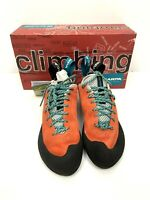 Scarpa Women's Helix Climbing Shoes 39.5 US 8 Vibram XS Edge Sole Classic NEW