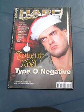 Hard Rock 1999 52 TYPE O NEGATIVE OPETH MOGG/WAY CELTIC FROST METALLICA MOTLEY