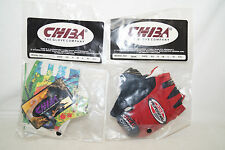 Chiba guantes Gloves 90th Model 30456 l 30447 m original vintage Blues
