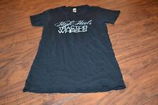 C8- High Heels & Tractor Wheels Black Short Sleeve Shirt Size S