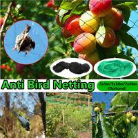 13Ft-164Ft Anti Bird Netting Garden Poultry Aviary Game Net Nylon Mesh Screen