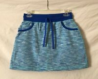 Size PS Talbots Petite Small Blue Athletic Skirt Shorts Skort NWT NEW $59 PP