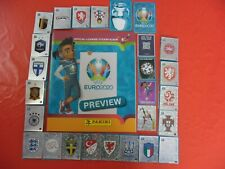 Panini Euro 2020 Preview 20 stickers au choix 568 stickers version Bleu