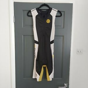SKINS Size S Womens Triathlon All In One Tri Suit Built in Bike Pad