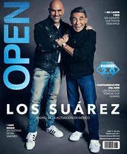 OPEN MAGAZINE  LOS SUAREZ * YESY PONCE DE LEON JUNIO 2017 REVISTA OPEN MEXICO