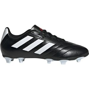 Adidas Goletto VII FG Junior Soccer Cleats EE4485 - Black, White, Red (NEW)