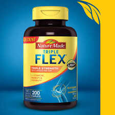 Nature Made TripleFlex Triple Strength, 200 Caplets, Glucosamine Chondroitin MSM