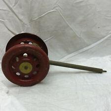 Vintage Bell Toy Push or Pull Metal Wheels
