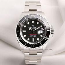MAI INDOSSATO FULL SET Rolex Sea-Dweller 126600 in acciaio inox