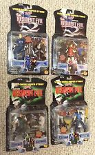 Toy Biz RESIDENT EVIL Series 1 & 2 action figure lot NEW & SEALED 1998