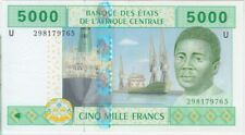 Central African States P209U-Cameroon, 5,000 Francs 2002, UNC,  We Combine