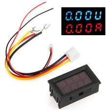 LED Digital Voltmeter Spannungsanzeige Amperemeter Strommesser 0-100V 50A GY