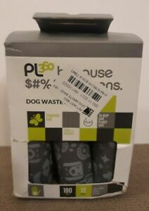PL 360 Pet Waste Bags, Thick Strong Unscented Dog Poop Bags, 12 rolls, 180ct