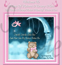 ~~LITTLE STAR GIRL REBORN BABY AUCTION TEMPLATE WITH  FREE LOGO & BIRTH CERT~~