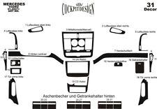 Mercedes Vito  2006 – 2014 Dash Trim Kit 3M 3D Wood Effect  31-Parts