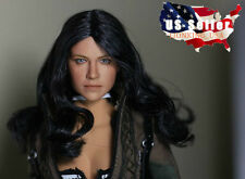 1/6 Michelle Rodriguez Head Sculpt Fast & Furious For Hot Toys Phicen Figure USA