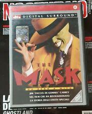 """/""""la Maschera Maschera Di Lattice Verde/"""" JIM CARREY Costume Halloween Loki Film"""