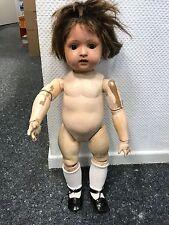 Alte Puppe 58 cm. Sehr Alt. Zustand ( Siehe Fotos )