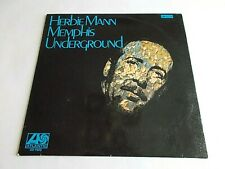 Herbie Mann Memphis Underground LP 1969 Atlantic Stereo Vinyl Record