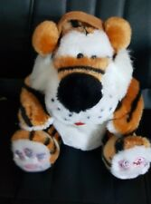 Smart Planet New and Vintage Plush Tiger Radio Control On Paw of Tiger 2005 Toy
