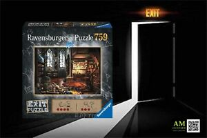 Ravensburger - Exit Puzzle - IN Drachenlabor - 759 Pieces - Boxed