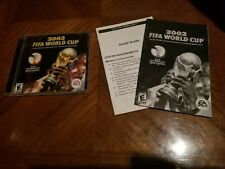 2002 FIFA World Cup (PC Game, 2002) [Mint Disc, Case Very Good Cond] (Read Des.)