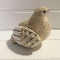 Artesania Rinconada Dove Bird Figurine Uruguay Art Pottery Handmade Vintage