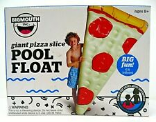 New listing Big Mouth Giant Pizza Slice Inflatable Swimming Pool Float 6 ft. Ages 8+