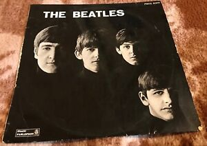 THE BEATLES 1st LP press ITALIE orig red label PMCQ 31502 label/sleeve mistakes!
