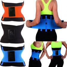 Waist Trainer Trimmer Sweat Belt Men Women Shapewears Body Shaper UK Size 5 -19