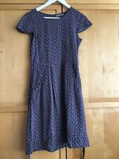 Lily and Me blue floral summer dress size 10
