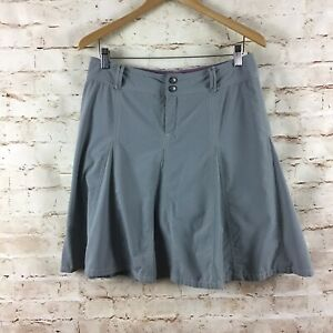 Athleta Gray Tennis Athletic Pleated Wear About Skort Skirt Size 8