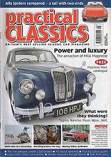 ALVIS 1920-67 - ALFA ROMEO 105 SERIES SPIDER Practical Classics Mag' Spring 2003