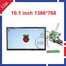 "10.1"" inch 1366*768 LCD Display Driver Board HDMI+VGA+2AV for Raspberry Pi 3/2"