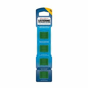 Listerine Ultraclean Access Disposable Snap-On Flosser Refill Heads For Proper