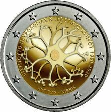 2 EURO COMMEMORATIVA CIPRO 2020 - 30° FONDAZIONE ISTITUTO NEUROLOGICO - FDC UNC